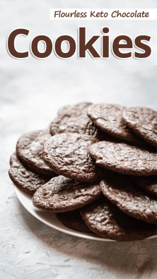 Flourless Keto Chocolate Cookies