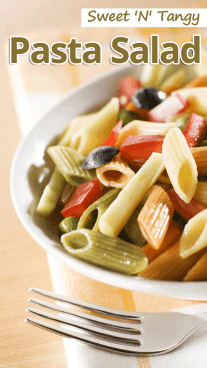 Sweet 'N' Tangy Pasta Salad