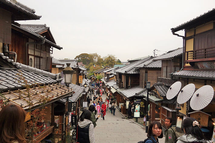 Ninen-zaka and Sannen–Zaka, Kyoto City