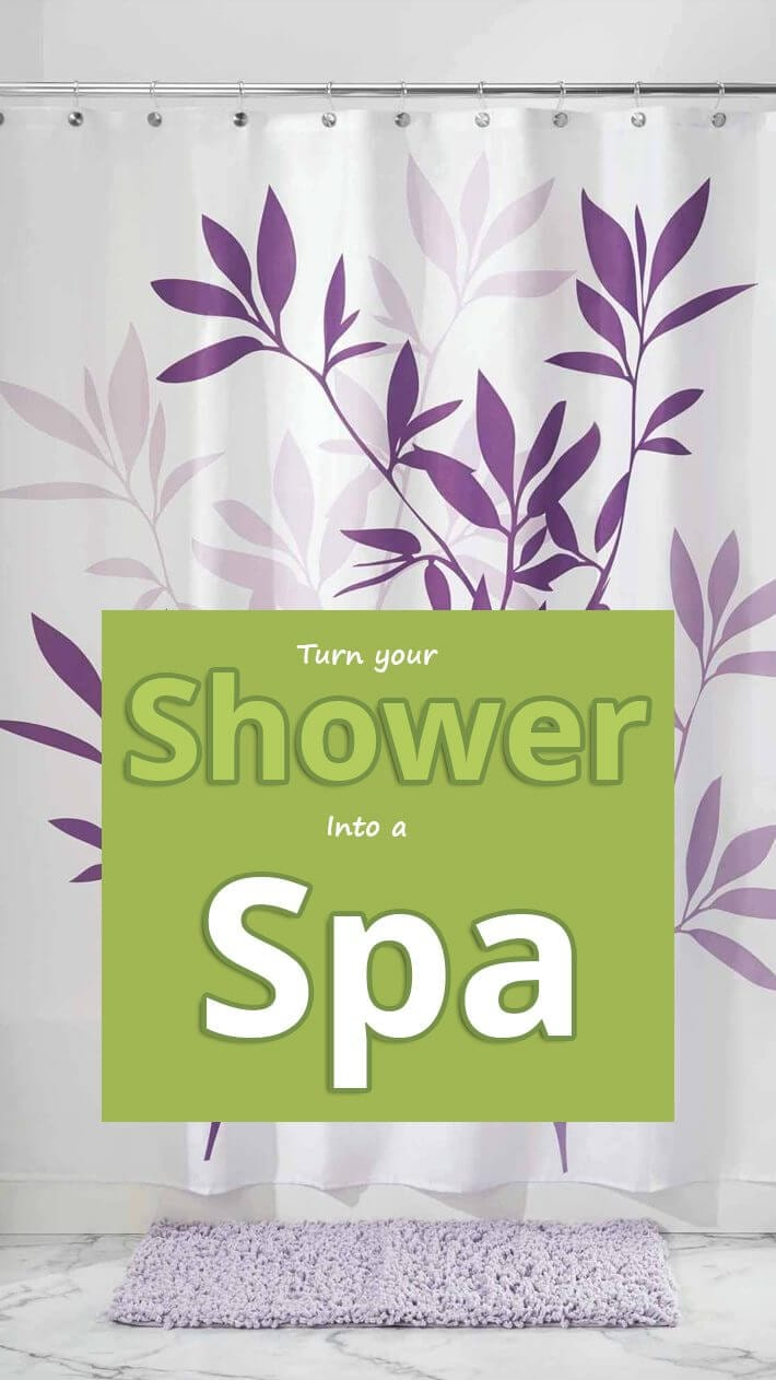 Turn Your Shower Into a Spa