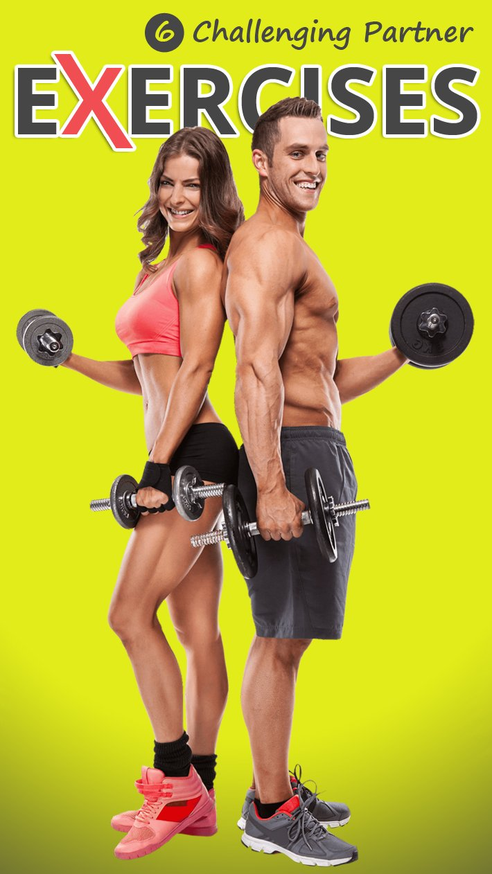 6 Challenging Partner Exercises
