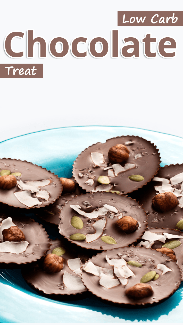 Low Carb Salty Chocolate Treat